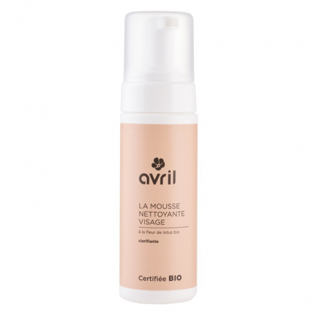 Mousse nettoyante visage Avril 150ml